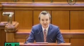 Discurs despre Unire în plenul Parlamentului de la București