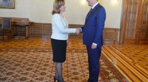 Întâlnire Iohannis – Gherman: Drumul RM către Bruxelles trece prin București