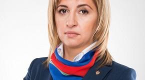 Bașcanul Irina Vlah deplânge soarta de interzis a lui Rogozin