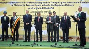 Ponta: Gazoductul este cel mai important proiect pentru Republica Moldova