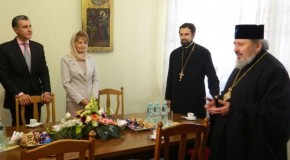 Principesa Margareta și Principele Radu petrec noapte Învierii la Chișinău