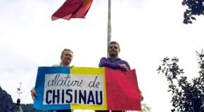 FOTO Diaspora unionistă susține marșul de la Chișinău din 16 mai