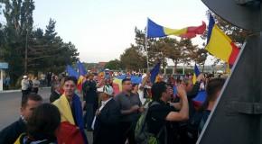 Poliția de Frontieră, recunoscătoare unioniștilor pentru manifestația de la vama Leușeni