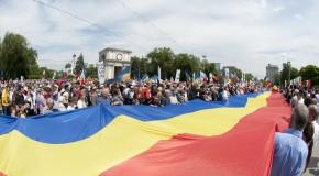 Unirea României cu Rep. Moldova, cerută la Prut