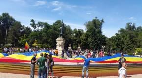 (FOTO) Opțiunea de vot a unioniștilor: Viitorul alături de România, alături de Europa