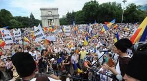 LIVE / A început Marea Adunare Centenară la Chişinău. PMAN este neîncăpătoare