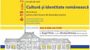 """ICR – 30 de liceeni din Rep.Moldova şi Basarabia istorică vin la şcoala de vară """"Cultură și identitate românească"""" de la Arcuș"""
