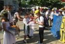 (VIDEO) Satul de baștină a lui Igor Dodon a sărbătorit Ziua Unirii Basarabiei cu România