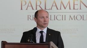 Premierul de la Chișinău, discurs în Parlamentul României