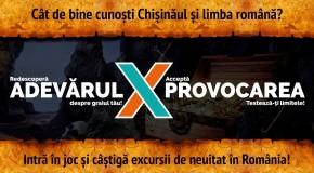 Intră într-un joc urban de Ziua Limbii Române. Marele premiu: o excursie în România