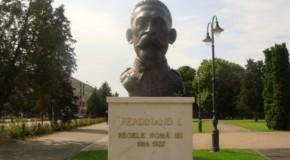Bustul primului rege al României Mari, Ferdinand I, va fi restabilit la Ialoveni