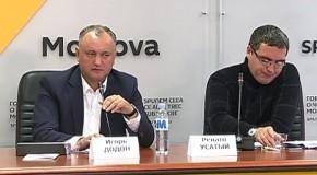 """Bâlciul siluetelor de carton // Usatîi îl elogiază pe Năstase şi dă de pământ cu Igor Dodon: """"E proiectul lui Plahotniuc ca să se pună bine cu Moscova"""""""