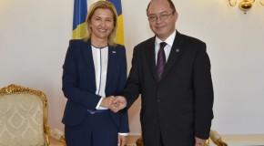 Ce au discutat ministrul Bogdan Aurescu şi bașcanul Irina Vlah la Bucureşti