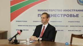 Înlocuitorul Ninei Ștanski enumeră prietenii regiunii transnistrene