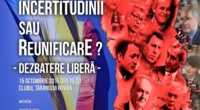 Dezbatere la București despre viitorul Rep. Moldova