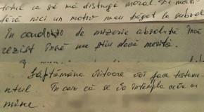 """""""Însemnări din subterană"""" / Fotocopie dintr-o scrisoare trimisă de Vlad Filat: """"Se face totul pentru a fi distrus moral"""""""