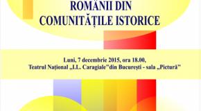 Premii de excelență pentru românii din comunitățile istorice