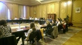 40 de studenți basarabeni, în Parlamentul României