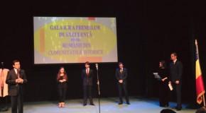 Președintele Mișcării Civice Tinerii Moldovei, premiat la București