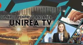 Unirea TV, în curând pe micile ecrane din Republica Moldova. Apelul organizaţiilor unioniste