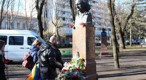 Omagiu lui Grigore Vieru la Chişinău