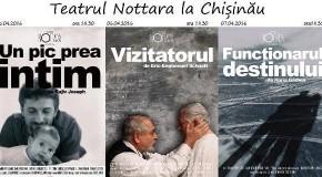 Teatrul Nottara din București ajunge la Chișinău
