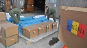 12.500 de pachete cu produse alimentare oferite de România au ajuns la Chișinău