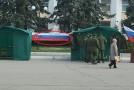 Armata rusă a ieșit din nou la recrutat în regiunea transnistreană