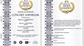 """Institutul """"Frații Golescu"""" pentru relații cu românii din străinătate, 15 ani de activitate"""