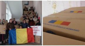 85 de familii din satul Costeşti, ajutate de România