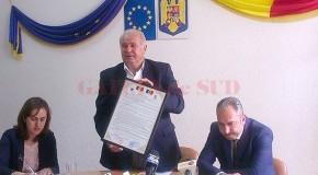 Unire prin înfrățire: Un raion și un județ au semnat pentru proiecte comune