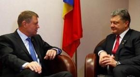 Situația românilor din Ucraina, subiect atins în discuțiile dintre Iohannis și Poroșenko