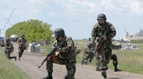 Antrenamente militare România-Rep. Moldova