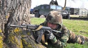 Militari din Rep. Moldova și România, cot la cot cu americanii