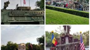 (FOTO) Surpriză: Americanii şi-au instalat tehnica militară în Piața Marii Adunări Naționale