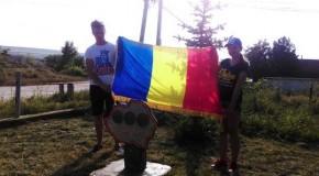 În raionul Criuleni a fost inaugurat Scuarul Unirii. Harta României Mari, la loc de cinste