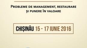 Conferință internațională la Chișinău despre patrimoniul cultural românesc