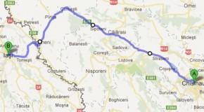 Distanţa Chişinău-Iaşi se va scurta cu aproape 30 de kilometri