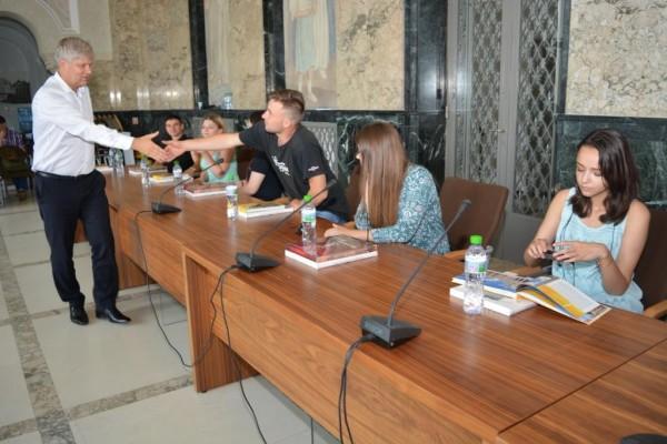 foto delegație din Chișinău