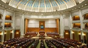 Declarația Senatului României pe marginea declarațiilor lui James Pettit, în plen