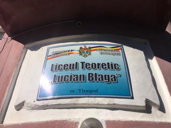 Imagini pentru romanii din transnistria liceul lucian blaga