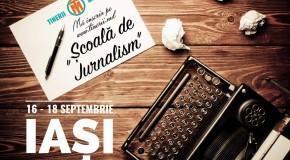 Școală de Jurnalism la Iași pentru tinerii din Rep. Moldova. Înscrieri până pe 12 septembrie