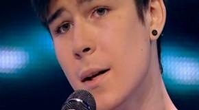 """Tânărul din Chișinău care i-a impresionat pe jurații de la X Factor cu interpretarea spectaculoasă a piesei """"Wicked Game"""""""