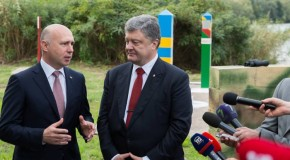 """Poroșenko i s-a adresat în română lui Pavel Filip: """"Cum viața? Tot normal?"""""""