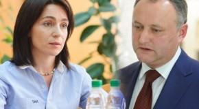 PAS: Întâlnirea dintre Dodon și Krasnoselski contravine Constituției