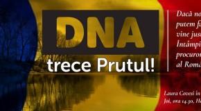 Mesajul Tinerilor Moldovei, în contextul vizitei la Chișinău a Laurei Codruța Kovesi: DNA, te rugăm – TRECI PRUTUL!