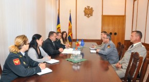 Discuţii cu experţi NATO la Ministerul Apărării din Chişinău. Printre subiecte, problema transnistreană