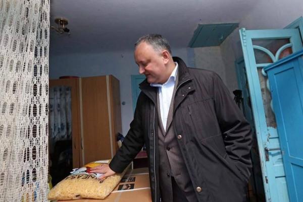 Igor Dodon și pastele Băneasa