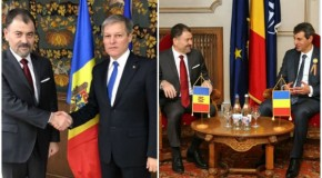 Anatol Şalaru, întrevedere cu premierul României şi cu ministrul Apărării de la Bucureşti