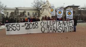 "Tineri basarabeni la Iași: ""1859 – 2018 – O luptă avem, o țară suntem"""